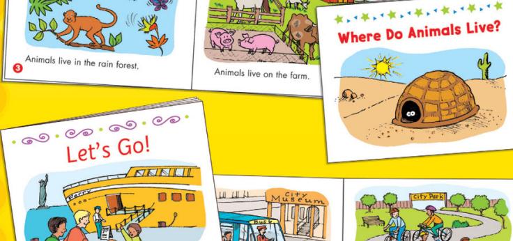قصص بداية القراءة- اصنعي لطفلك 25 كتيب لبداية القراءة mini book