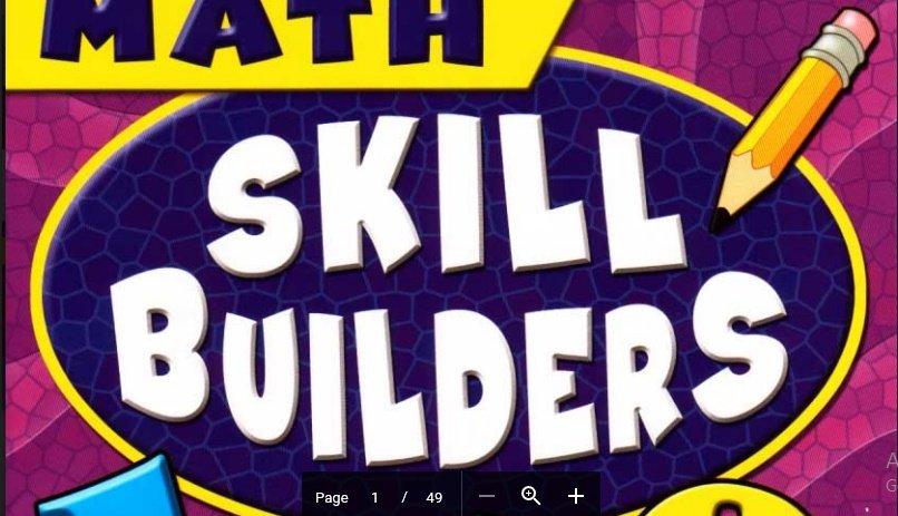 شيتات ماث تأسيس الطفل في المهارات الأساسية