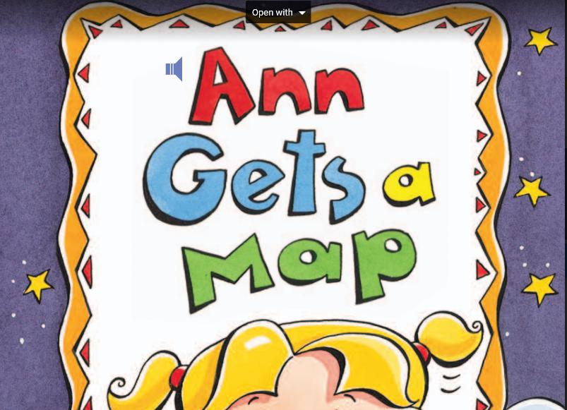 تعليم مبادئ الخريطة للأطفال-قصة قصيرة