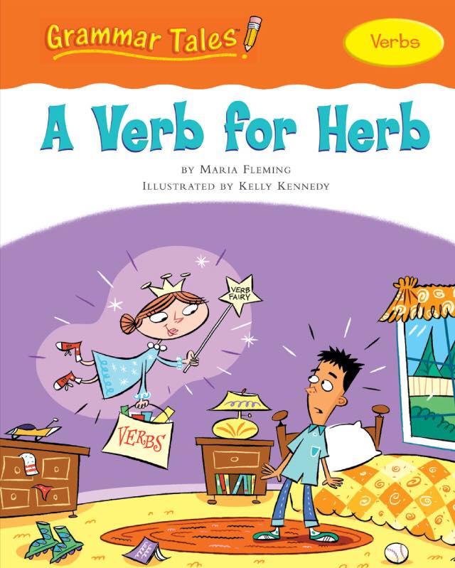تعليم جرامر للأطفال قواعد اللغة الانجليزية الافعال Verbs مكتبة التعليم المرح