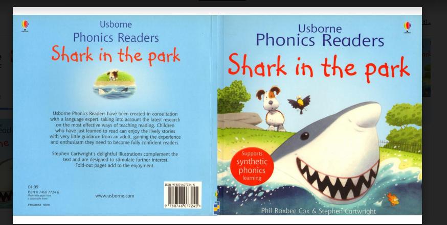 قصص الفونكس مع الصوتيات القصة الاولى SHARK IN THE PARK-قصص مسموعة