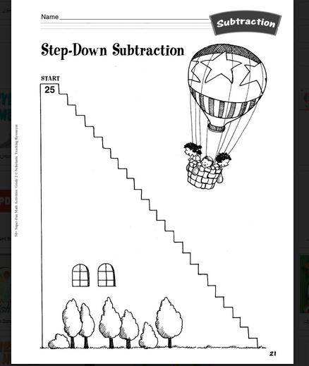 كتب تعليم الحساب للاطفال pdf  الصف الثاني والثالث
