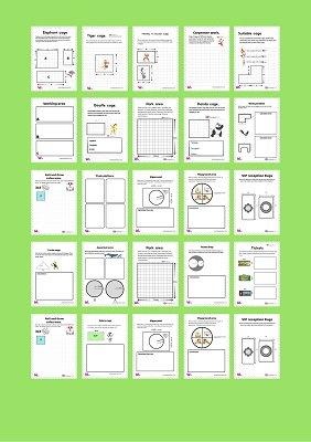 مساحة المربع والمستطيل للصف الخامس للصف الرابع